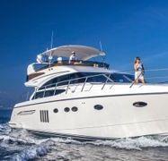 Motor boat Princess 62 Fly (2009)-1