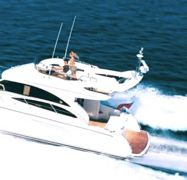 Motorboot Princess 42 Fly (2009)-1
