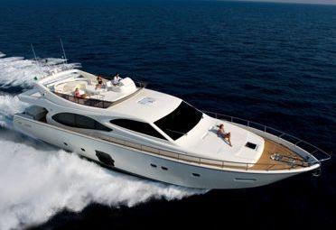 Barco a motor Ferretti 780 (2007)-0