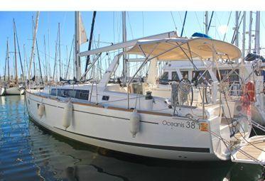 Sailboat Beneteau Oceanis 38.1 (2019)-0