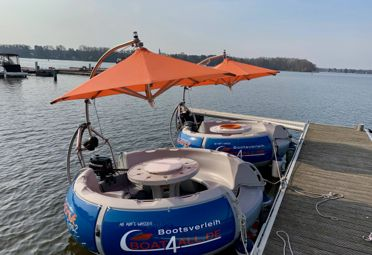 Barco a motor bbq-donut Grillboot Type 2 (2014)-0