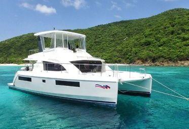 Motor Catamaran Leopard Moorings 433 (2018)-0