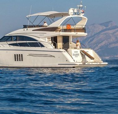 Motor boat Princess 62 Fly (2009)-2