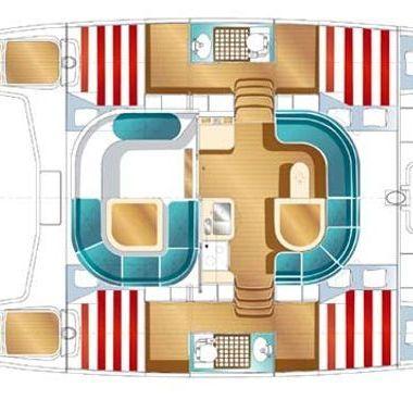 Catamarán Nautitech 40 (2006)-4