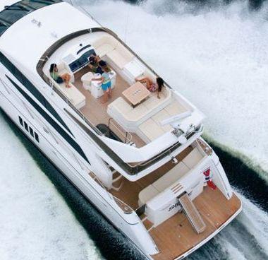 Motor boat Princess 62 Fly (2009)-4