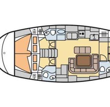 Segelboot Bavaria 47 (2002)-2