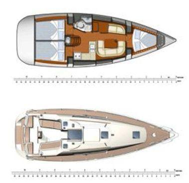 Segelboot Jeanneau Sun Odyssey 36 i (2008)-4