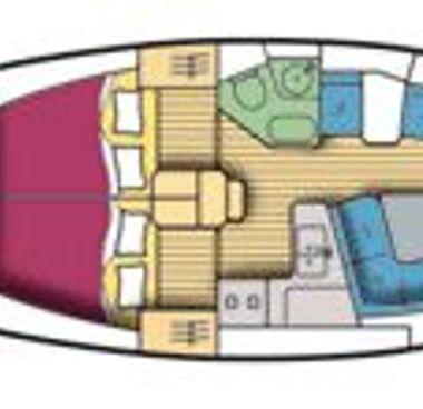 Barca a vela Jeanneau Sun Odyssey 37 (2001)-4