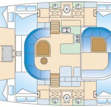 Catamaran Nautitech 44 (2007)-4