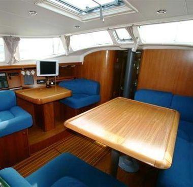 Zeilboot Jeanneau Sun Odyssey 43 DS (2002)-2