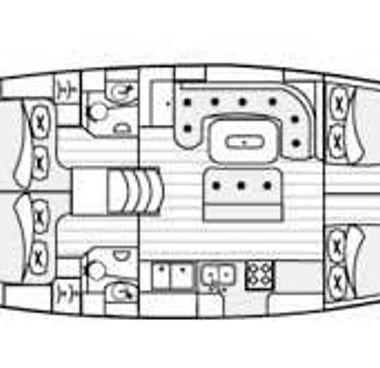 Segelboot Beneteau 50 (2001)-4