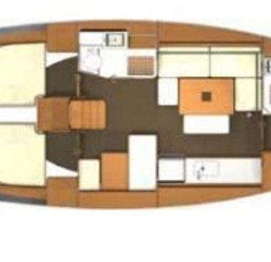 Sailboat Dufour 405 (2012)-4