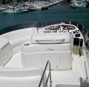 Motorboot Cranchi Atlantique 48 (2002)-4