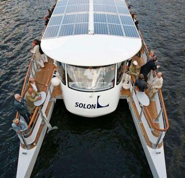 Catamarán a motor SOLON C60 (2009)-4