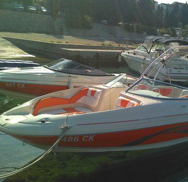 Speedboot Sea Ray 220 SDX (2003)-4