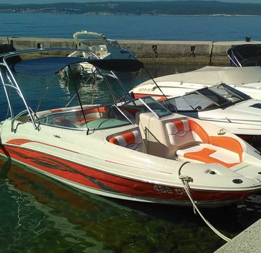 Speedboot Sea Ray 220 SDX (2003)-2