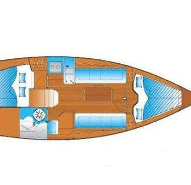 Zeilboot Bavaria Cruiser 30 (2005)-4