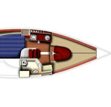 Barca a vela Jeanneau Sun 2500 (2009)-4