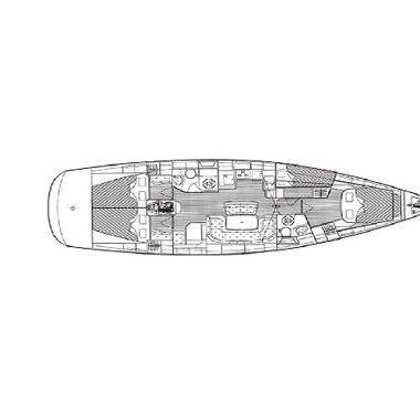 Barca a vela Bavaria Cruiser 46 (2008)-4