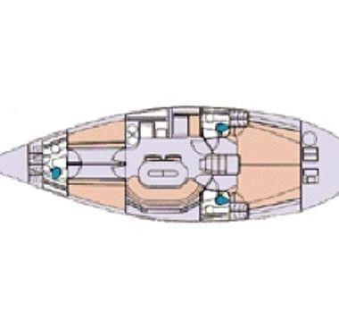 Barca a vela Elan 431 (1996)-4