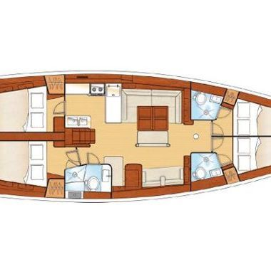 Sailboat Beneteau Oceanis 54 (2012)-2