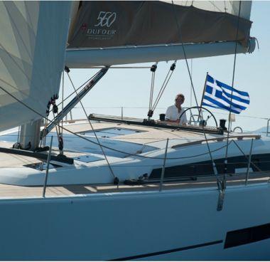 Sailboat Dufour 560 Grand Large - 2014 (refit 2021)-2