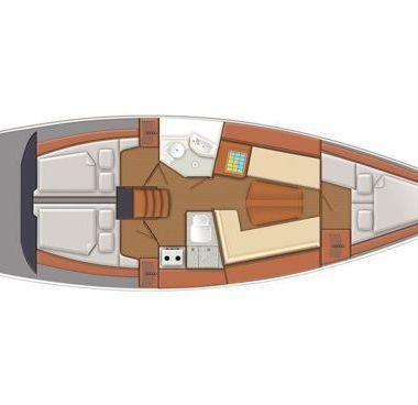 Barca a vela Delphia 37 (2011)-4