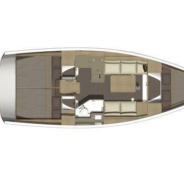 Barca a vela Dufour 350 (2016)-2
