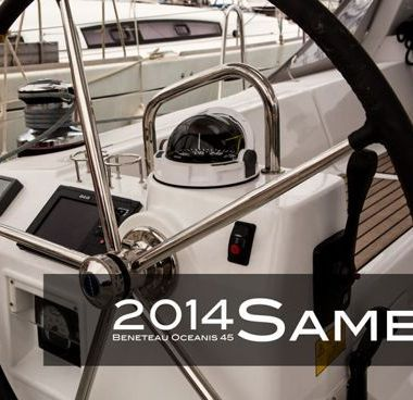 Barca a vela Beneteau Oceanis 45 (2014)-2