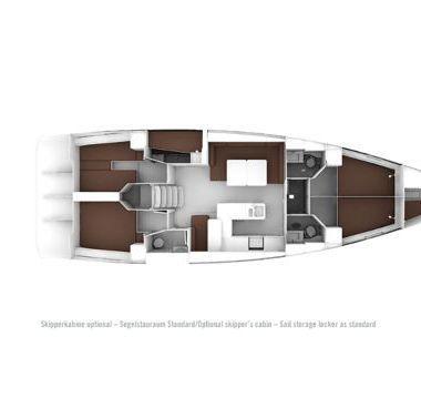 Zeilboot Bavaria Cruiser 56 (2015)-4