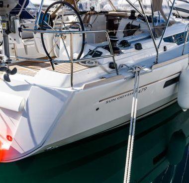 Barca a vela Jeanneau Sun Odyssey 479 (2016)-4