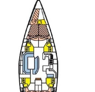 Barca a vela Jeanneau Sun Odyssey 52.2 (1999)-4