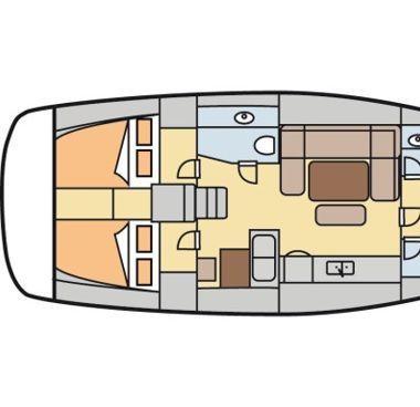 Barca a vela Dufour 450 Grand Large (2013)-4
