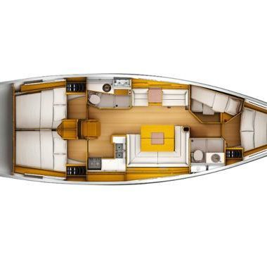 Sailboat Jeanneau Sun Odyssey 449 (2018)-2