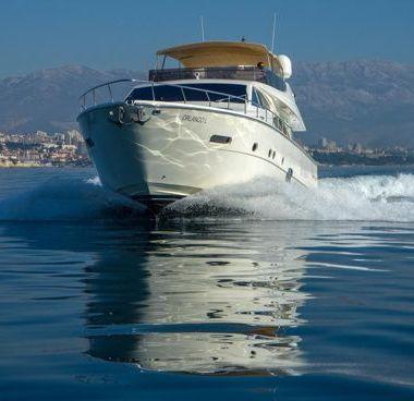 Barco a motor Ferretti 780 (2007)-2