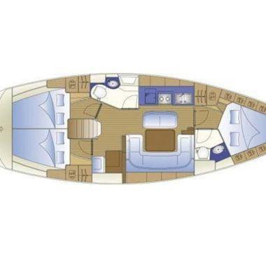 Sailboat Bavaria Cruiser 40 (2008)-2