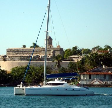 Catamaran Fountaine Pajot Bahia 46 (2004)-4