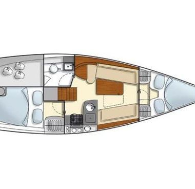 Sailboat Hanse 325 (2012)-2