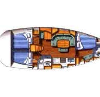 Velero Beneteau Oceanis Clipper 393 - 2004 (reacondicionamiento 2016)-4