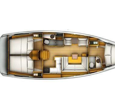 Sailboat Jeanneau Sun Odyssey 419 (2019)-2