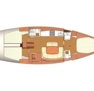 Sailboat Dufour 455 - 2008 (refit 2014)-4