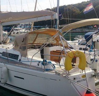 Segelboot Dufour 405 (2013)-2