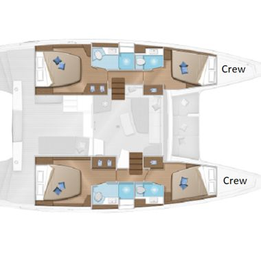 Catamaran Lagoon 42 (2020)-4