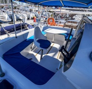 Catamaran Fountaine Pajot Athena 38 (2000)-4