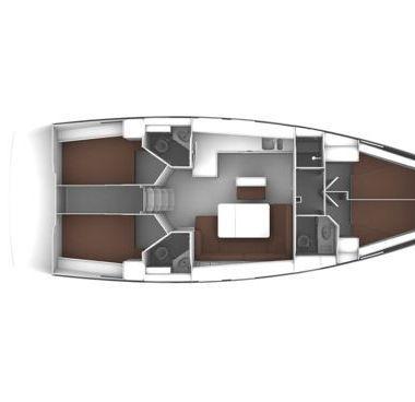Sailboat Bavaria Cruiser 46 (2017)-2