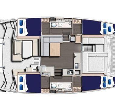 Catamaran Leopard Moorings 4000 (2019)-2