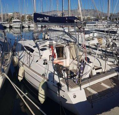 Barca a vela Elan 340 (2010)-4