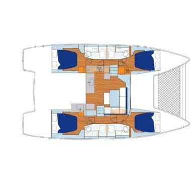 Catamaran Lagoon Sunsail 46 Cat (2019)-2
