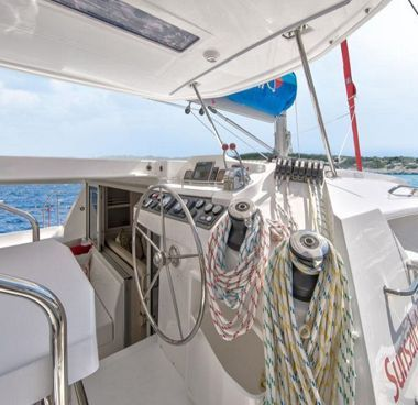 Catamaran Leopard Sunsail 404 (2018)-4