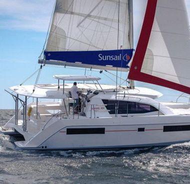 Catamaran Leopard Sunsail 404 (2018)-2